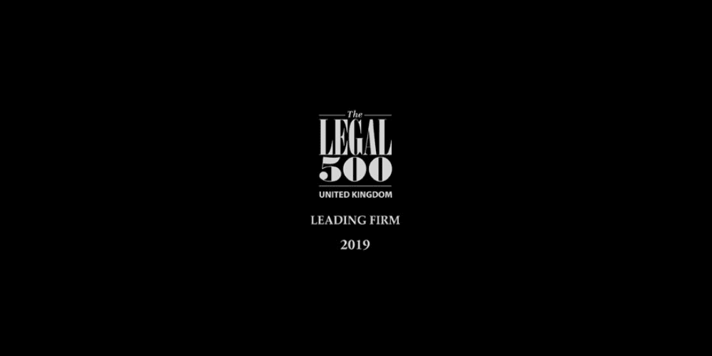 Churchgates is now ranked in the Legal 500